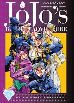 JoJo's Bizarre Adventure: Part 4 Diamond Is Unbreakable vol. 4 (Viz Media)