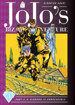 JoJo's Bizarre Adventure: Part 4 Diamond Is Unbreakable vol. 3 (Viz Media)