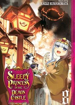 Sleepy Princess in the Demon Castle vol. 8 (Viz Media)