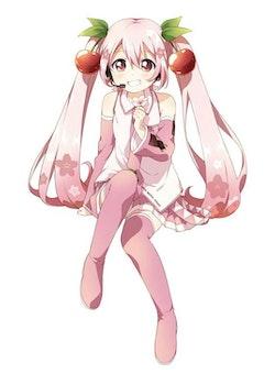 Hatsune Miku Noodle Stopper Figure Sakura Miku 2022 Ver. (FuRyu)