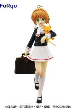 Card Captor Sakura Clear Card Special Figure Sakura Kinomoto Tomoeda Junior High School Uniform Ver. (FuRyu)