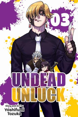 Undead Unluck vol. 3 (Viz Media)