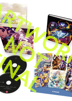 Sword Art Online Alicization: War of Underworld - Part 1 Collector's Edition Blu-Ray