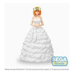 The Quintessential Quintuplets 2 SPM Figure Yotsuba Nakano Bride Ver. (SEGA)