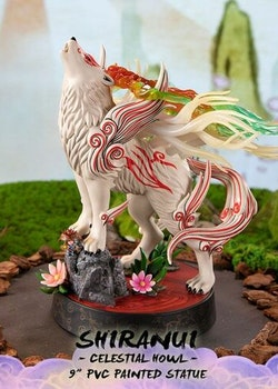 Okami Figure Shiranui Celestial Howl (First 4 Figures)