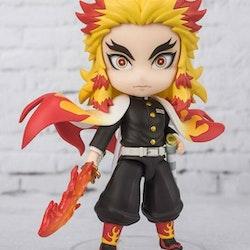 Demon Slayer: Kimetsu no Yaiba Figuarts Mini Figure Kyojuro Rengoku Flame Breathing (Tamashii Nations)