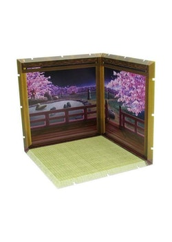 Dioramansion 200 Decorative Parts for Nendoroid and Figma Figures - Cherry Blossoms at Night