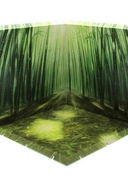 Dioramansion 200 Decorative Parts for Nendoroid and Figma Figures - Bamboo Forest (Daytime)