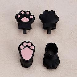 Original Character Parts for Nendoroid Doll Figures Animal Hand Parts Set (Black)