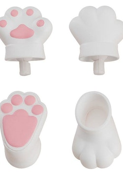 Original Character Parts for Nendoroid Doll Figures Animal Hand Parts Set (White)