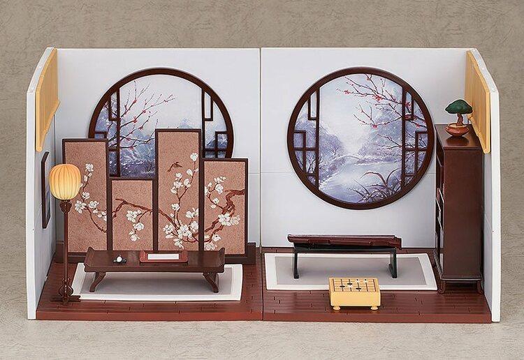 Nendoroid More Decorative Parts for Nendoroid Figures Playset 10 Chinese Study B Set