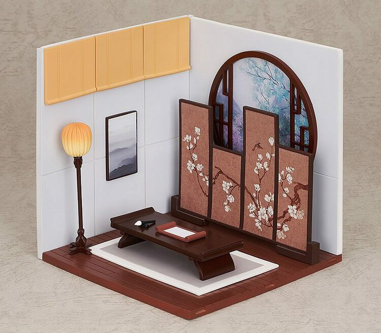 Nendoroid More Decorative Parts for Nendoroid Figures Playset 10 Chinese Study A Set