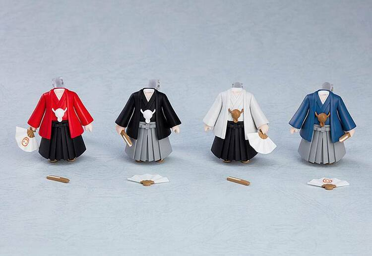 Nendoroid More 4-pack Parts for Nendoroid Figures Dress-Up Coming of Age Ceremony Hakama