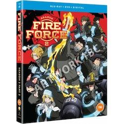 Fire Force Season Two Part Two Combi Blu-Ray/DVD