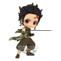 Demon Slayer Kimetsu no Yaiba Q Posket Figure Tanjiro Kamado III ver. B (Banpresto)
