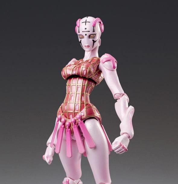 JoJo's Bizarre Adventure Part5 Super Action Action Figure Chozokado SG Spice Girl (Medicos Entertainment)