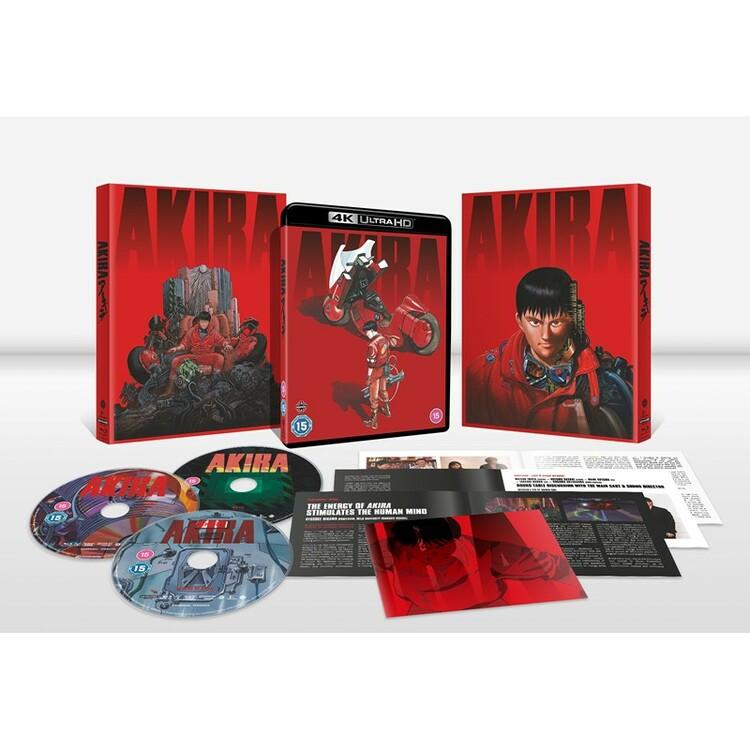 Akira Limited Edition 4K UHD Blu-Ray
