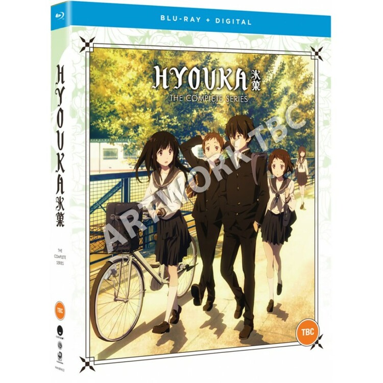 Hyouka the Complete Series Blu-Ray