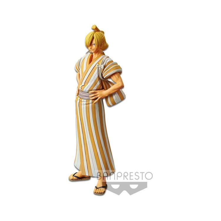One Piece Grandline Men Wanokuni vol. 5 Figure Sanji (Banpresto)