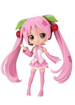 Vocaloid Q Posket Figure Sakura Miku ver. A (Banpresto)