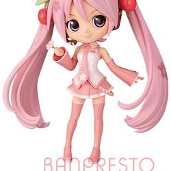 Vocaloid Q Posket Figure Sakura Miku ver. B (Banpresto)
