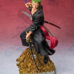 One Piece FiguartsZERO Figure Roronoa Zoro by Eichiro Oda 100 Famous Views and Pirates WT100 (Tamashii Nations)