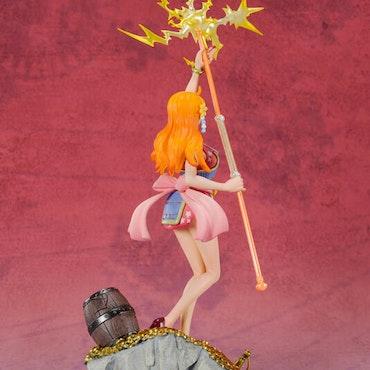 One Piece FiguartsZERO Figure Nami by Eichiro Oda 100 Famous Views and Pirates WT100 (Tamashii Nations)