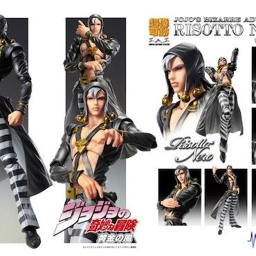 JoJo's Bizarre Adventure Part5 Super Action Action Figure Chozokado Risotto Nero (Medicos Entertainment)