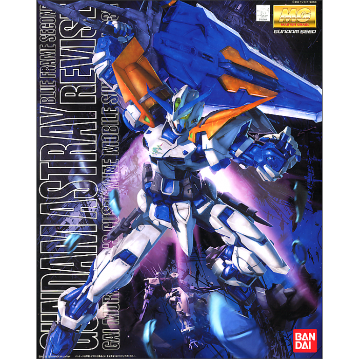 MG Gundam Astray Blue Frame Second Revise 1/100 (Bandai)