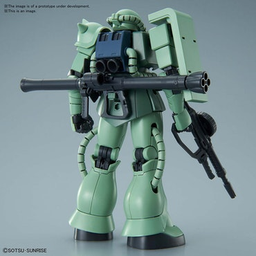 HG Zaku II MS-06 1/144 (Bandai)