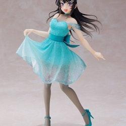 Rascal Does Not Dream of Bunny Girl Senpai Coreful Figure Mai Sakurajima Clear Dress ver. (Taito)