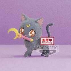 Sailor Moon Eternal Fluffy Puffy Mini Figure Luna Ver. A (Banpresto)