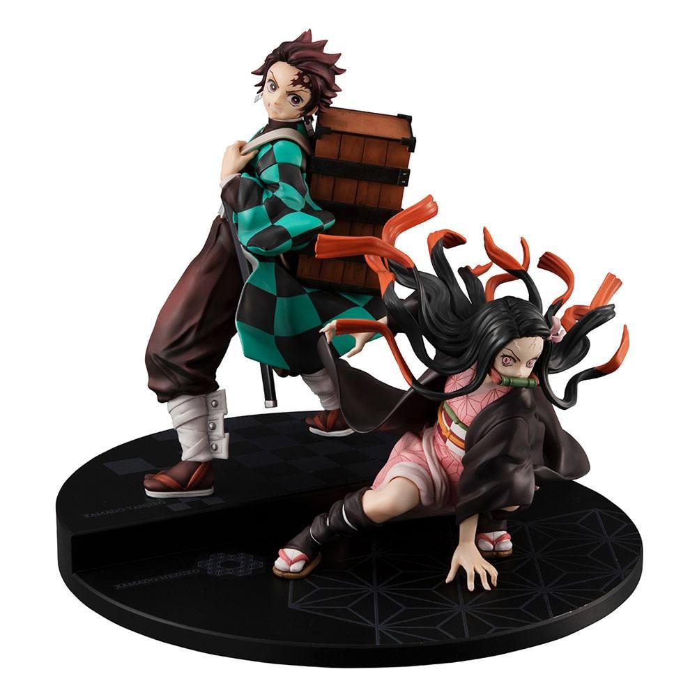 Demon Slayer Kimetsu no Yaiba Precious G.E.M. Series Figure Kamado Brother & Sister (Megahouse)