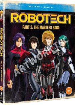 Robotech Part 2 The Macross Saga Blu-Ray