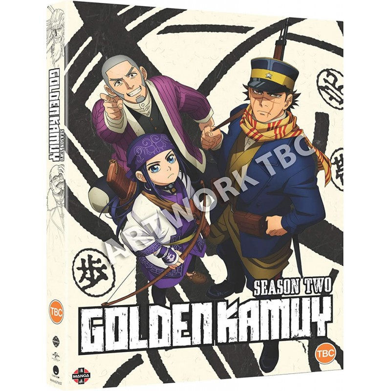 Golden Kamuy Season 2 DVD