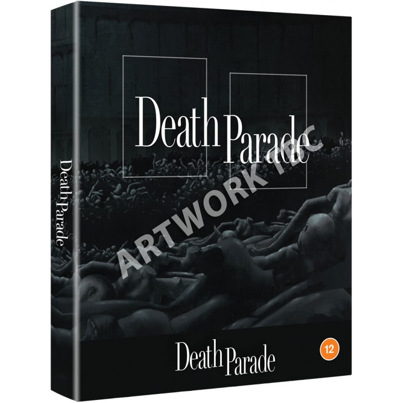 Death Parade Complete Series Limited Edition Blu-Ray