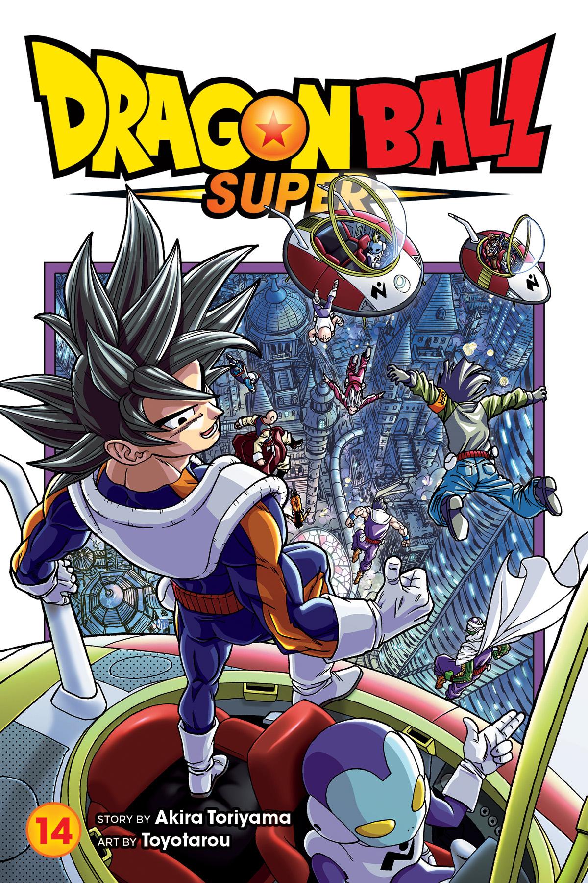 Dragon Ball Super Manga vol. 14 (Viz Media)