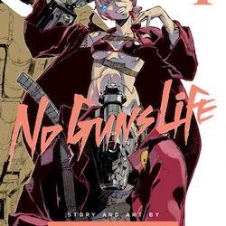 No Guns Life Manga vol. 4 (Viz Media)