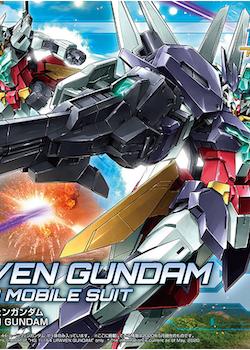 HG Gundam Build Divers Re:Rise Uraven Gundam 1/144 (Bandai)