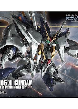 HGUC Xi Gundam 1/144 (Bandai)