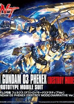HGUC Unicorn Gundam 03 Phenex Destroy Mode Narrative Ver. 1/144 (Bandai)