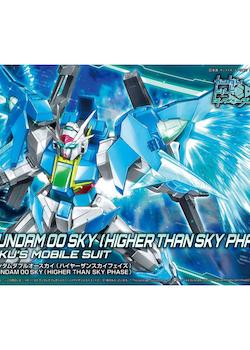 HG Gundam Build Divers Gundam 00 Sky Higher Than Sky Phase 1/144 (Bandai)