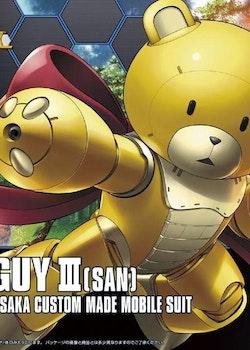 HG Gundam Build Fighters Beargguy III 1/144 (Bandai)