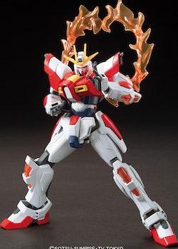 HG Gundam Build Fighters Build Burning Gundam 1/144 (Bandai)