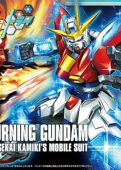 HG Gundam Build Fighters Try Try Burning Gundam 1/144 (Bandai)