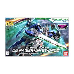 HG 00 Raiser & GN Sword 1/144 (Bandai)