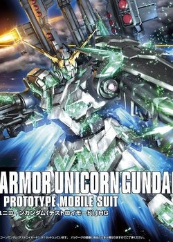 HGUC Full Armor Unicorn Gundam Destroy Mode 1/144 (Bandai)