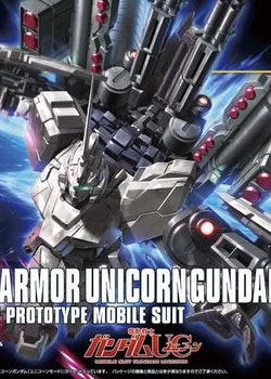 HGUC Full Armor Unicorn Gundam Unicorn Mode 1/144 (Bandai)