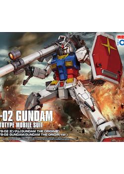 HG Gundam RX-78-02 Origin Ver. 1/144 (Bandai)