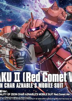 HG Zaku II Red Comet Origin Ver. 1/144 (Bandai)